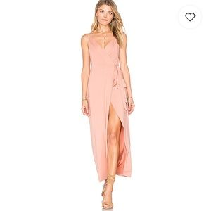 WYLDR wrap over dress